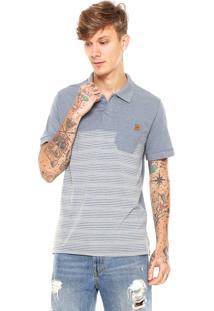 Camisa Polo Rusty Road Azul