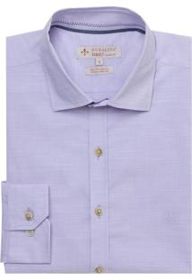 Camisa Ml Tc Fio Tinto Slub (Rosa Claro, 6)