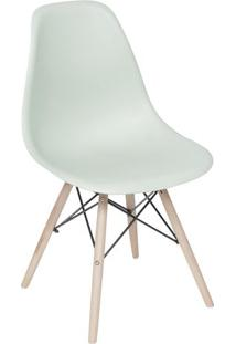 Cadeira Eames Dkr- Verde Claro & Bege- 80,5X46,5X42Cor Design
