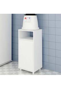 Armário Multiuso 1 Porta Filet Branco - Casabras
