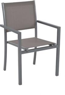 Cadeira Ubatuba Cinza Tela Cinza Rivatti