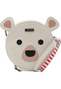 Bolsa Santa Lolla Urso Off-White