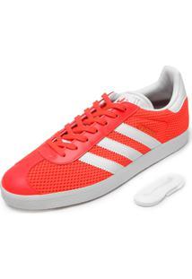 Tênis Adidas Originals Mesh Gazelle Coral