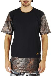 Camiseta Jota K Snake Gold