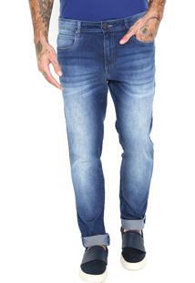 Calça Jeans Skinny Cavalera John Azul