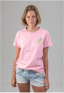 Camiseta Mojitos Melty - Feminino-Rosa
