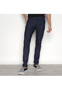 Calça Jeans Cavalera Eddie Super Skinny Masculina - Masculino-Azul
