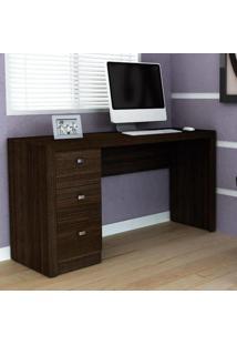 Escrivaninha/Mesa Para Escritório Me4102 Tabaco - Tecno Mobili
