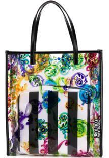 Versace Jeans Couture Bolsa Tote Com Estampa Abstrata - 982 Printed Pvc