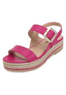 Sandália Plataforma Quiz Qz20-6619 Pink