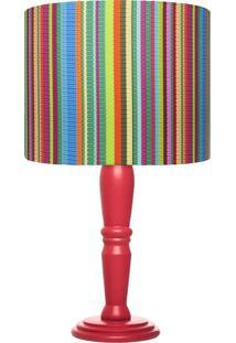 Abajur Carambola Decolores Colorido - Multicolorido - Dafiti