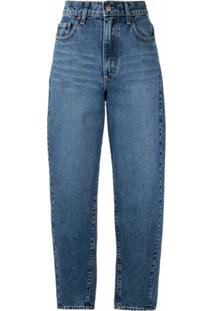 Nobody Denim Calça Jeans Pantalona Porter - Azul