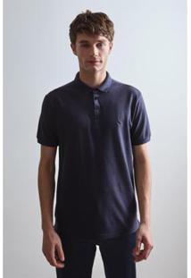 Camisa Polo Pf Peitilho Slim Prim 19 Reserva - Masculino