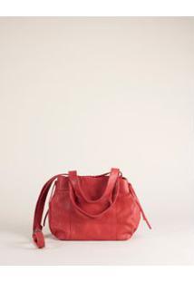 Bolsa M Mini Escama - Vermelho U