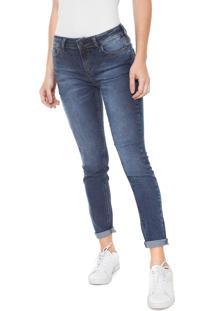 d4b5668c7 R$ 94,99. Kanui Calça Azul Feminina Hering Jeans Skinny Estonada