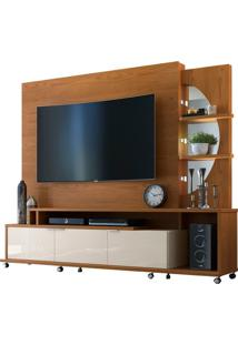"Home Para Tvs Até 55"" Elegance Damasco / Off White"