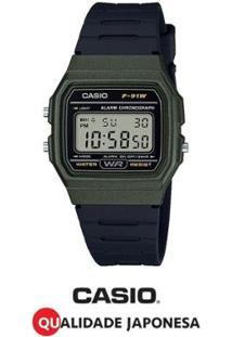 Relógio Casio Digital Feminino F-91Wm-3Adf - Feminino