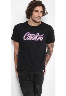 Camiseta Cavalera Gola Careca Logo Masculina - Masculino