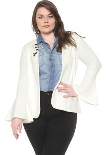 Blazer Nolita Plus Ilhoses Off-White