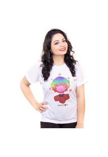 Camiseta Estampada Acme Inc Branca Assinada Por Nanami Nem
