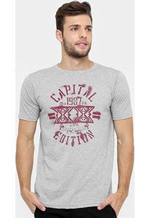 Camiseta Burn Capital Edition - Masculino