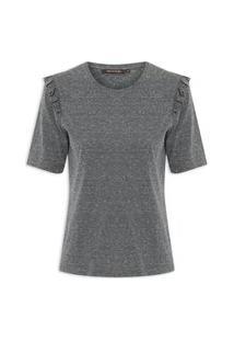 Camiseta Feminina Agnes - Cinza
