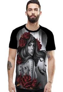 Camiseta Stompy Raglan Modelo 105 Masculina - Masculino