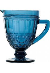 Jarra De Vidro Azul Libélula 1L