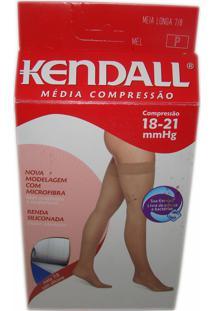 a9b8cad8a ... Meia Medicinal Kendall Mc Coxa 7 8 Pequeno Mel C  Silicone