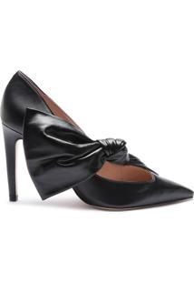 Scarpin Special Italian Laço Black | Schutz