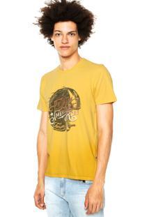Camiseta Forum Estampa Amarela