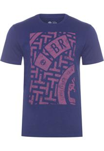 Camiseta Masculina Culvert Evening - Azul