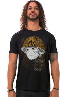 Camiseta Masculina Boy Preto B