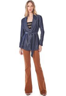 Blazer Iodice Alfaiataria Jeans - Jeans - Feminino - Dafiti