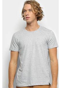 Camiseta All Free Masculina - Masculino-Cinza