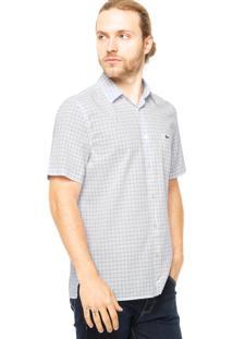 Camisa Manga Curta Lacoste Bolso Branca