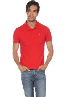 ... Camisa Polo Levis Housemark Summer Masculino - Masculino-Vermelho 181cebcd78f28