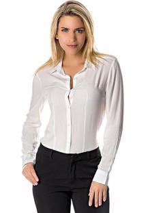Camisa Lisa - Brancadwz