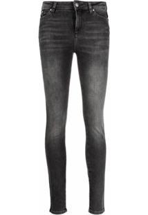 Karl Lagerfeld Calça Jeans Skinny - Preto