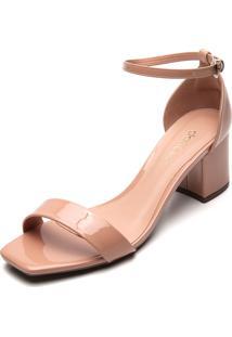 Sandália Dafiti Shoes Verniz Rosa