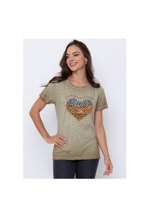 T-Shirt Flamê Animal Print