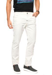 Calça Coca-Cola Jeans Skinny Off-White