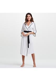 Robe Joge Robe Midi Malha Ivi Off-White