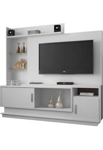 Estante Para Home Theater Adustina Branco 178 Cm