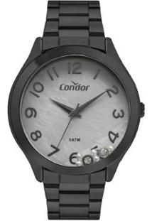 Relógio Condor Feminino Classic Preto Analógico Covj21Mrn4C - Feminino