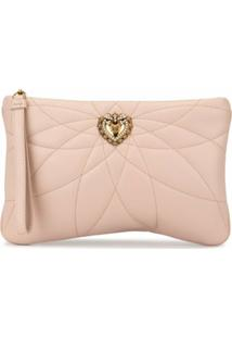 Dolce & Gabbana Porta-Moedas Devotion - Rosa