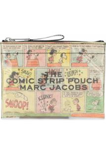 Marc Jacobs Clutch Peanuts Comic Com Estampa - Amarelo