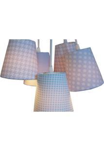 Luminária Cacho Pied De Pole Crie Casa Azul