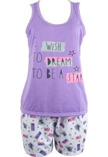 Baby Doll Ayron Fitness Star Lilás
