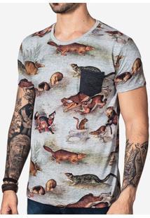 Camiseta Silvestre Full Print 100663